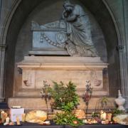 Bodegón de quesos en Catedral de Pamplona